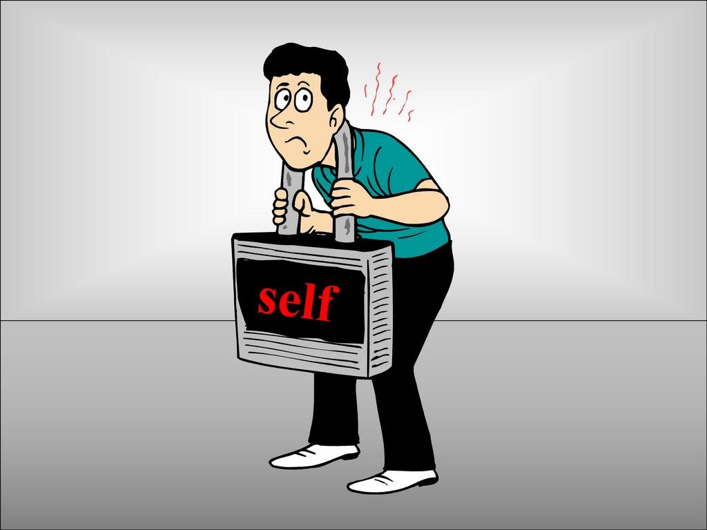 sin of self ego