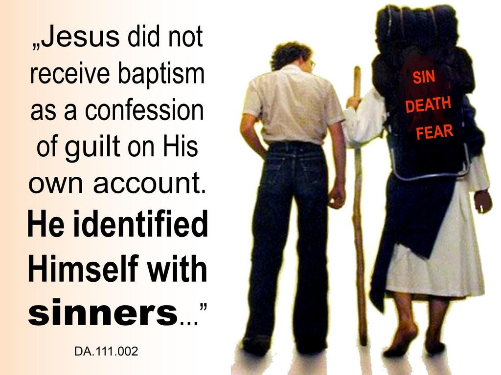 christ baptised as us, ellen white3