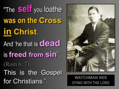 In Christ motif, we were crucified with Him