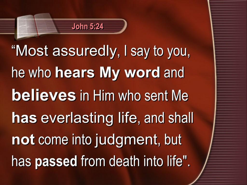 John 5,24