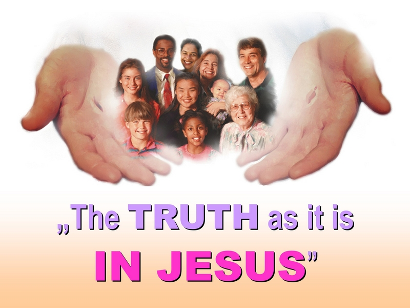 CHRIST'S INCARNATION IN ADVENTIST CHURCH - TRUTH IN CHRIST