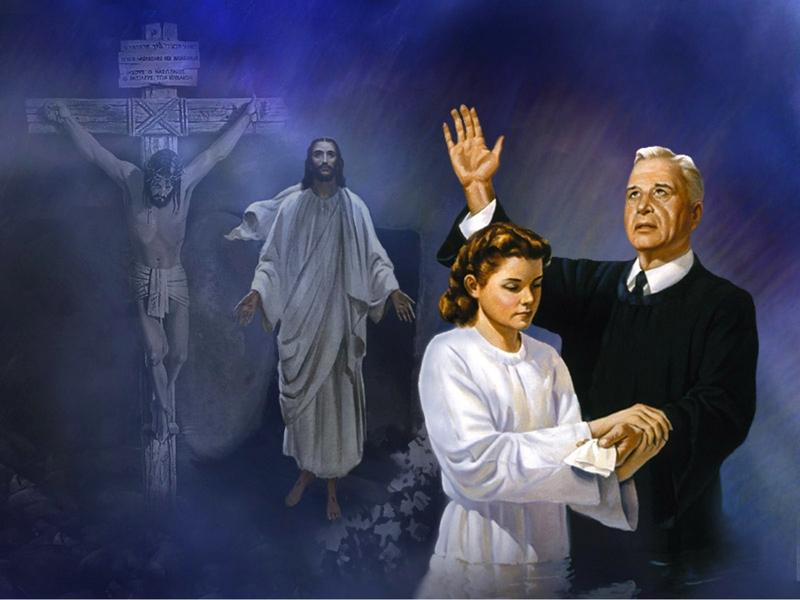 IN CHRIST MOTIF & CHRIST'S INCARNATION - BAPTISM - DESIRE OF AGES BY ELLEN WHITE