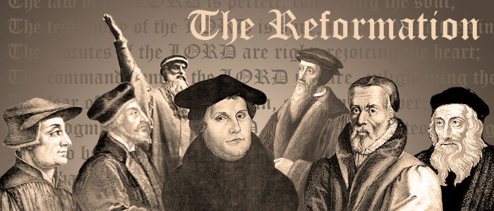 LUTHER REFORMATION - GOSPEL OF FREEDOM