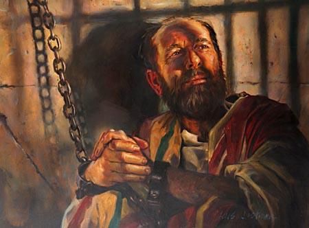 appostle paul in prison